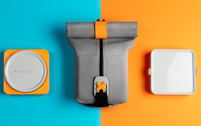 FOLDEAT | A Modular Lunchbox That Unfolds