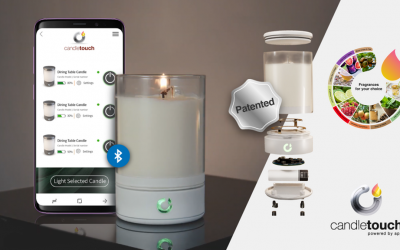 Candle Touch™- The First Smart, Connected, Real-