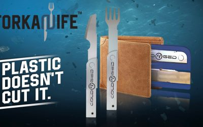 Forkanife, an innovative replacement to plastic
