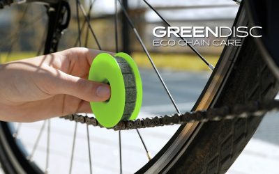 GREEN DISC | The cleanest chain care ever.