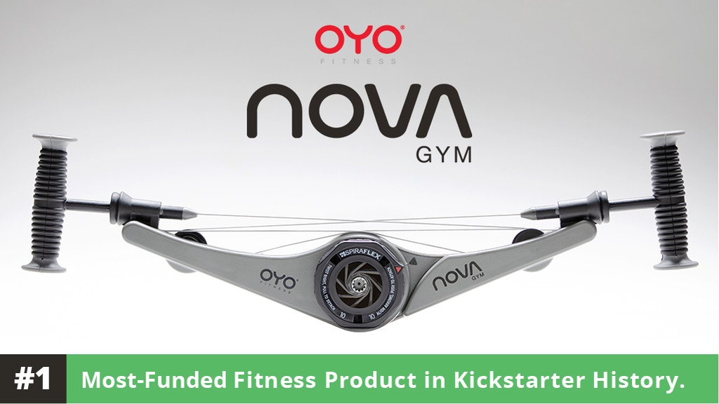 OYO NOVA Gym – A FULL GYM IN YOUR HANDS