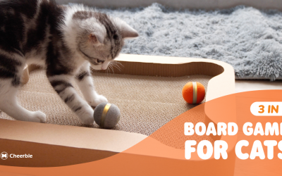 Cheerble Board Game – Keep your cat happy