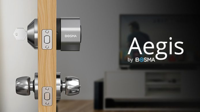 Aegis: The Most Secure WiFi Smart Deadbolt Ever