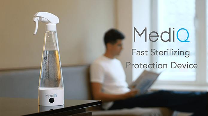MediQ: Non-Toxic Reusable Sterilizer & Air