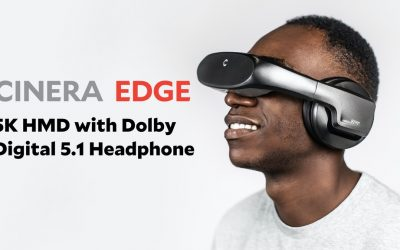 Cinera Edge, a 5K OLED HMD with Dolby Digital