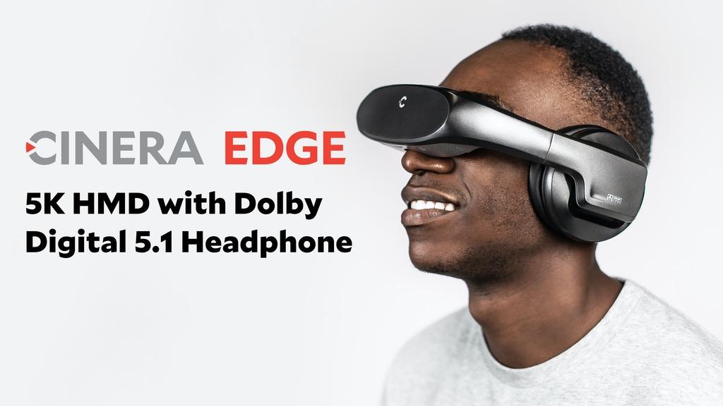 Cinera Edge, a 5K OLED HMD with Dolby Digital
