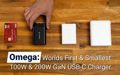 Omega: Worlds First & Smallest 200W & 100W