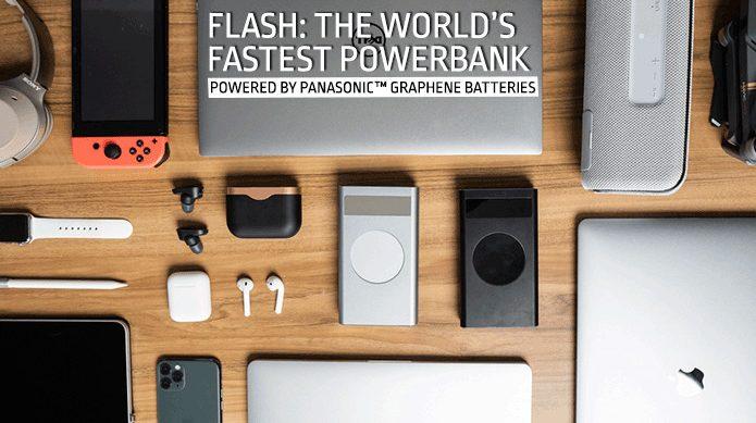 Flash: World's Most Powerful 210W USB-C