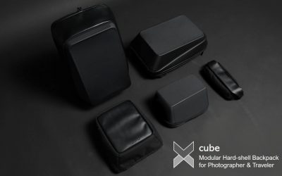 Xcube: Modular Hardshell Backpack