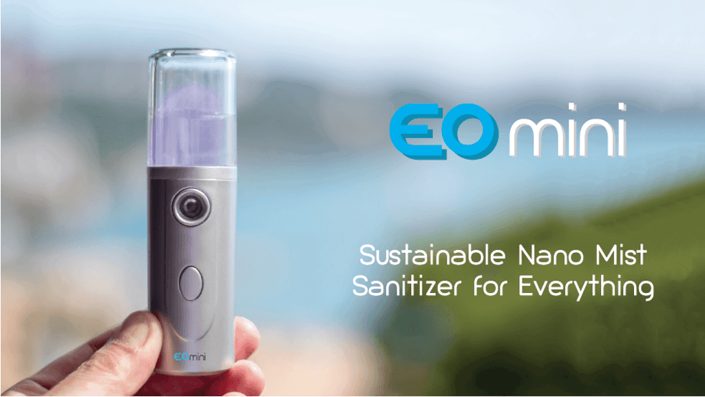 EO mini – Sustainable Nano Mist Sanitizer