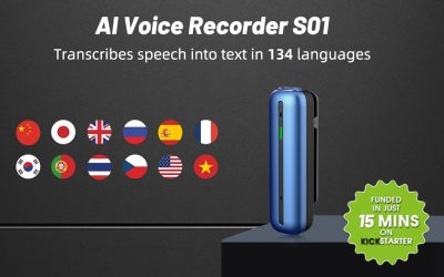 Wooask S01 – World's Best AI Voice Recorder
