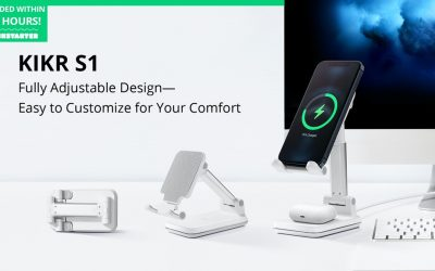 KIKR S1: Phone Stand with 20W Wireless Charging
