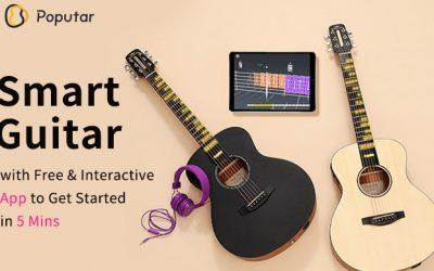 Poputar: A Smart Guitar with Free App
