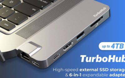 TurboHub: World's Fastest SSD & Multiport Adapter