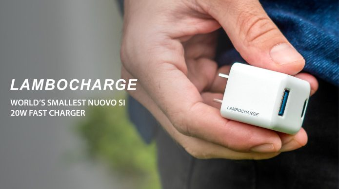 LAMBOCHARGE: NUOVO SI 20W Fast Charger
