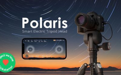 Polaris – Smart Electric Tripod Head