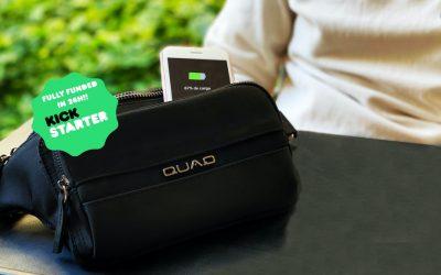 QUAQ Wireless Charging Crossbody