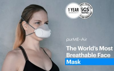 purME Air: World's most breathable face mask