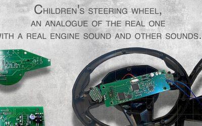 An Innovative Children's Steering Wheel