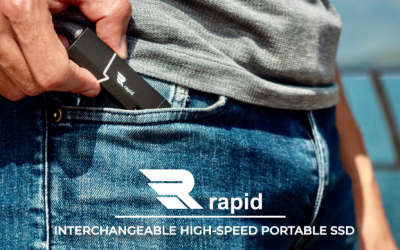 Interchangeable High-Speed Portable SSD
