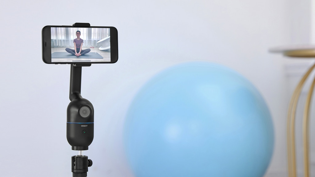 OBSBOT Me: AI Auto-Tracking Phone Mount