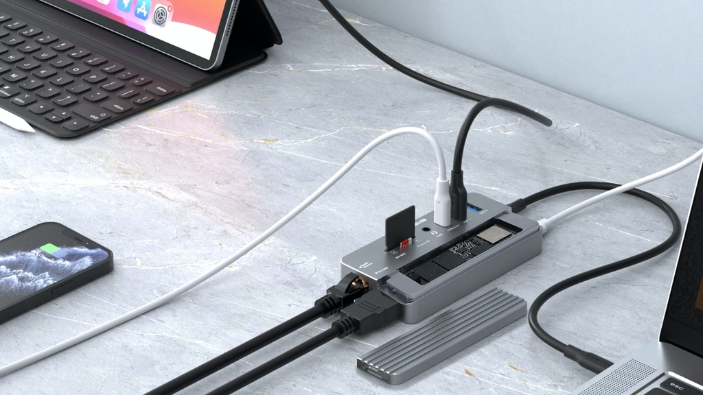 ACASIS: Swappable SSD Storage & 10-In-1 Hub