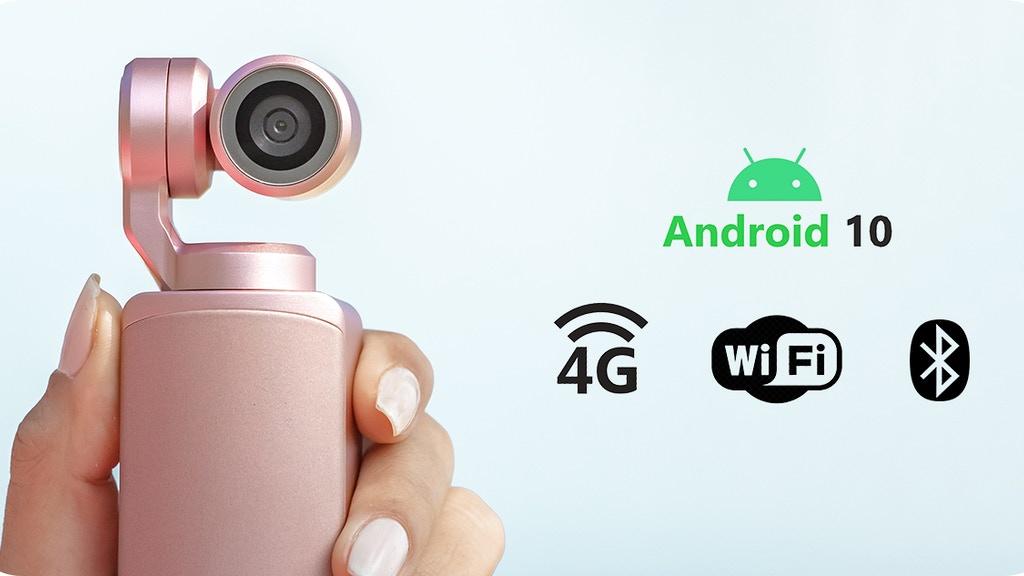 RayShot: Pocket-Sized 4G Gimbal Smart Camera