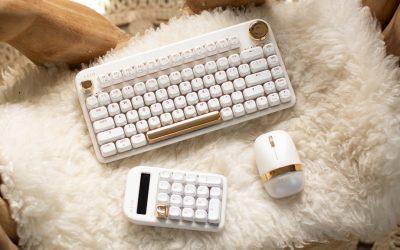 Vibrant & Intuitive Wireless Keyboard Set