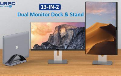 USB C Dual Monitor Docking Station
