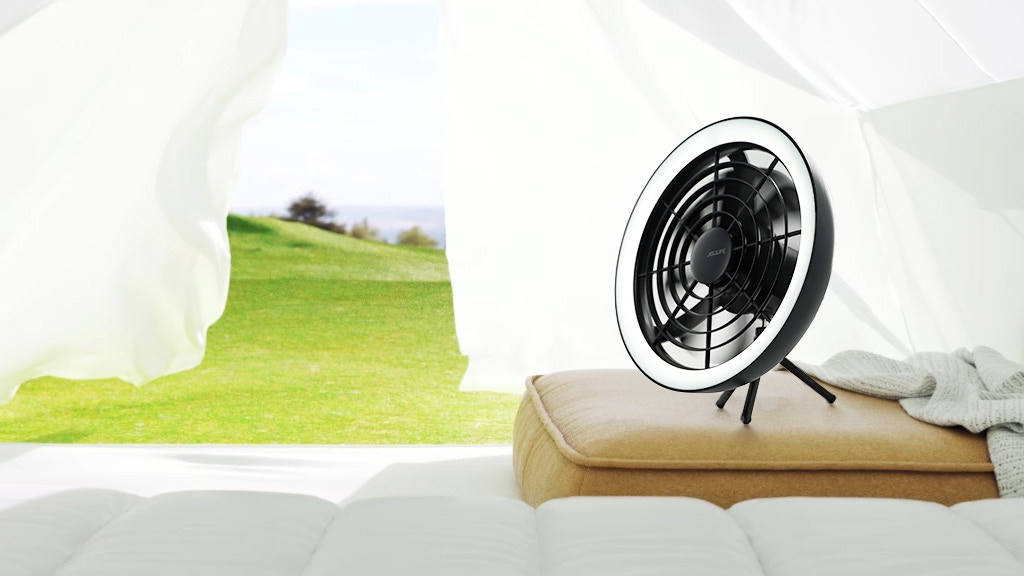 Portable Convertible Fan with Ambient Light