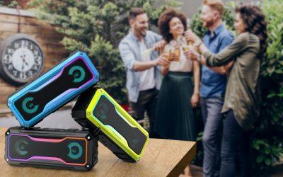 Twinkle: Portable TWS Speaker with Lighting