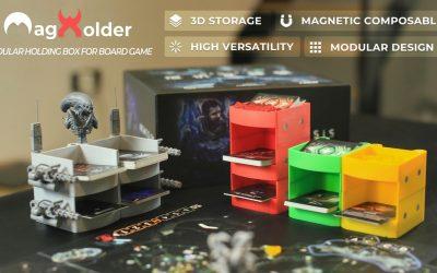 Modular Holding Box for Board Game