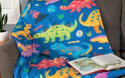 Kid's Blanket for Better Sleep and Better Mood