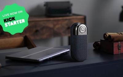 Bluetooth & NFC Speaker and Phone Holder