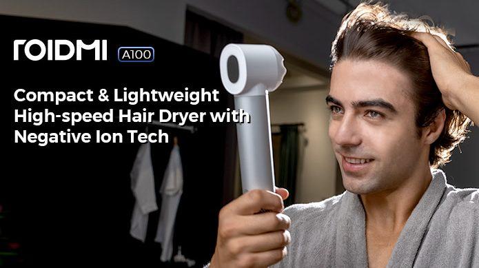 ROIDMI Hair Dryer: Compact & Powerful