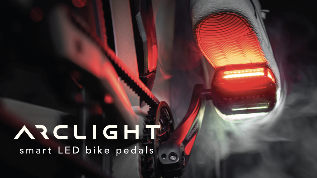 Arclight Bike Pedals: Stand Out, Ride Safe