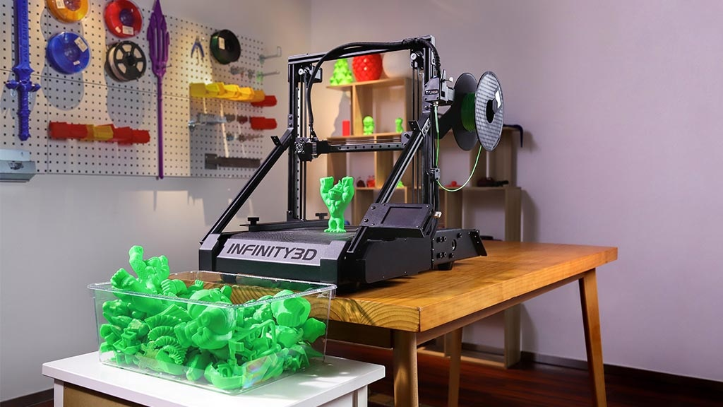 Infinity3D: Deformable 3D Belt Printer