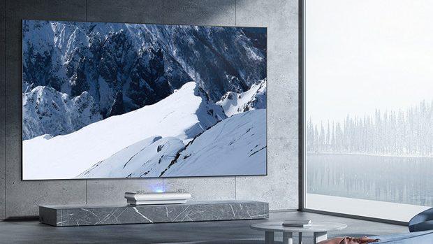 JMGO U2 4K Tri-Color Laser TV Projector